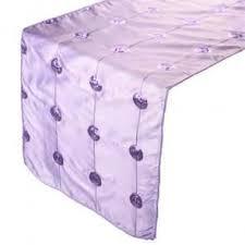 ice blue table runner table linen
