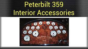peterbilt dash warning lights peterbilt dash accessories big rig chrome shop semi truck chrome