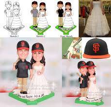 baseball wedding cake toppers s f san francisco giants baseball wedding cake topper mlb
