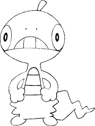 scraggy pokemon printable coloring pages coloring pages kids