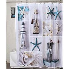 Nautical Shower Curtains Morning 72 X 72 Inch Nautical Shower Curtains