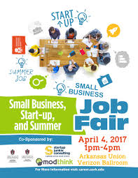 Uark Campus Map Small Business Start Up And Summer Job Fair University Of Arkansas