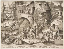 the seven deadly sins after pieter bruegel the elder envy invidia from the seven