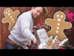 Challenge Smosh Gingerbread House Smashing Challenge Squad Vlogs Smosh