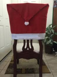 christmas chair back covers happy holidays from big z fabric cozy minky fabric