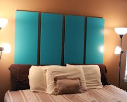 34 diy headboard ideas blue folding closet doors headboard