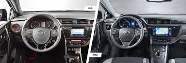 auris 2015 toyota auris facelift u2013 can you tell the difference carwow