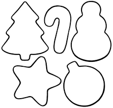 christmas ornament coloring pages printable decorating