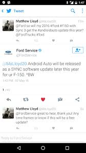 Ford Sync Map Update Android Auto And Sync3 On 2016 F150 F150online Forums