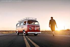 volkswagen van front view photoshoot sunset in albuquerque nm search for