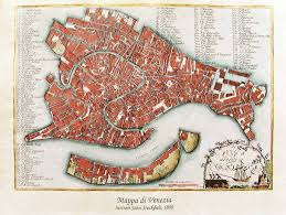 Map Venice Italy by Historical Map Of Venice Map Collection