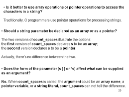Count Characters In Access 1 This Chapter Covers Both String Constants Or Literals As They