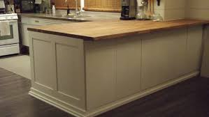 cost to build kitchen island diy kitchen island using ikea cabinets trendyexaminer
