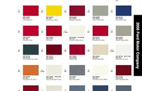 2005 paint codes u2013 s197 mustang