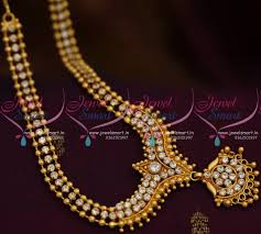 gold plated beads necklace images Nl6055 beads gold design delicate necklace ad white stones trendy JPG