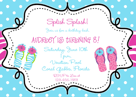 swimming party invitations theruntime com