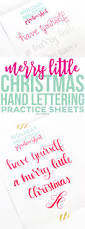 download these free printable christmas hand lettering practice
