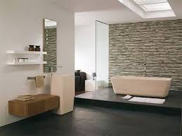 Like That Stacked Stone Wall Interior Stone Walls Interior Design - Bathroom wall design