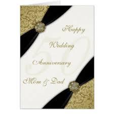 Greetings For 50th Wedding Anniversary 50th Wedding Anniversary Greeting Cards Zazzle