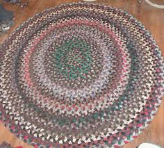 Modern Round Rugs by Rustic Round Braided Rugs Living Room Ideas Handmade Round