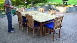 Patio Dining Set Cover by How To Measure For A Outdoor Dining Table Cover Youtube
