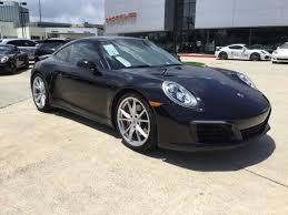 Porsche Cayenne Jet Black Metallic - certified pre owned 2017 porsche 911 carrera 4s