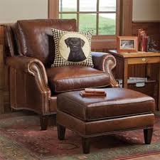 small leather chair with ottoman overstuffed chairs and ottomans for the home pinterest