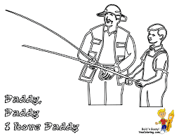 big boss fathers coloring pages yescoloring free fathers