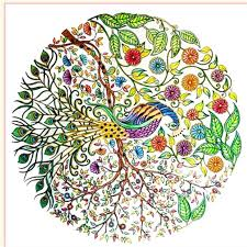 enchanted forest inky treasure hunt coloring colouring