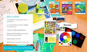 summer art online workshop deep space sparkle