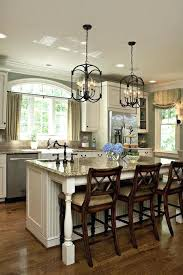 pendant lighting for kitchen second sink location traditional