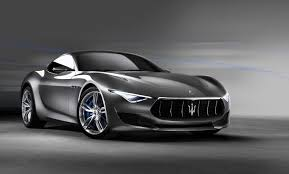 black maserati the 2017 maserati alfieri comes on the front door with lines and