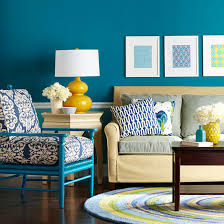 decorating in blue teal walls color paints and bright colours