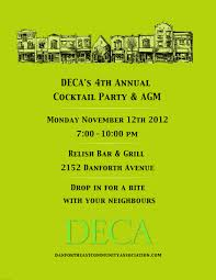 Cocktail Party Invitation Card Deca 101 Cocktail Party Invite And Seniors Consultation Tomorrow