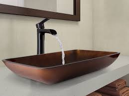 Vessel Sink Faucets Oil Rubbed Bronze Sink U0026 Faucet Beautiful Vessel Sink Faucets Vigo Amber Sunset