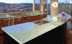 Kitchen Countertops Cost Interesting Glass Kitchen Countertops Cost Perfect Interior