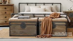 country style beds loft american country style wrought iron beds retro industrial pipe