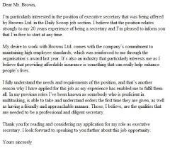 well written cover letter 9 perfect how to write a for job