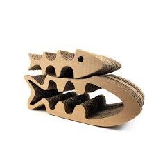 Cat Scratcher Fish Bone U0026hollow Cat Scratcher Cardboard Cat Claw Pad Pet Supplies