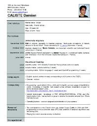 A Proper Resume Example Waiter Resume Sample Berathen Com