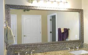 diy bathroom mirror frame ideas bathroom mirror frame ideas room indpirations