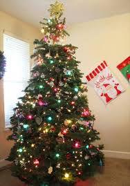 christmas trees with colored lights decorating ideas colored lights christmas tree decorating therobotechpage