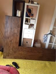 wood best way to attach metal legs to corner desk do i need