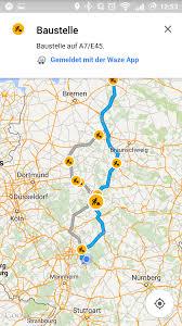 Goofle Map Google Maps Mit Besserer Stauerkennung Und Neuen Icons Android