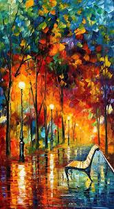 the symphony of light afremov by leonidafremov on deviantart