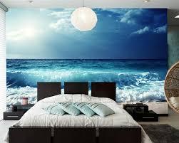 Fototapete Wohnzimmer Modern Papel De Parede Himmel Meer Wellen Horizon Natur Fototapete