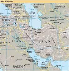 map iran iraq iraq iran agree to demarcate border