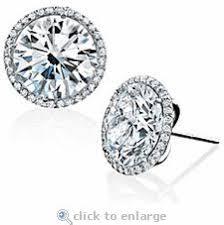 cubic zirconia stud earrings 18 best stud earrings images on earring studs gold