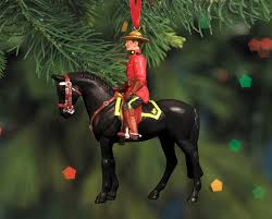 rcmp musical ride 2015 ornament