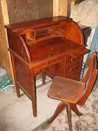 small roll top desk paris mfg rolltop desk and chair antique appraisal instappraisal